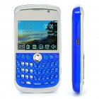 "K9800 2.3"" LCD Quad SIM Quad Network Standby Quadband GSM TV Cell Phone w/ WIFI+JAVA - Blue"