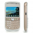 "K9800 2.3"" LCD Quad SIM Quad Network Standby Quadband GSM TV Cell Phone w/ WIFI+JAVA - Champagne"