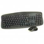 Rapoo 1810 Wireless 104-Key Keyboard & Optical Mouse Combo Set with USB Receiver (1 x AAA/1 x AA)