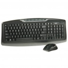 Rapoo 8180 Wireless 103-Key Keyboard & Optical Mouse Combo Set with USB Receiver (2 x AAA/1 x AA)