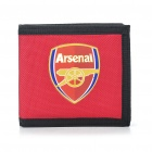 Football/Soccer Team 3-Fold Nylon Wallet - Arsenal