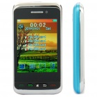 "F912 2.8"" Touch Screen Quad SIM Quad Network Standby Quadband GSM Dual TV Cell Phone w/ FM - Blue"