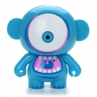 Cute Dolaso Mini USB Rechargeable Stereo Speaker for MP3/MP4/PC/Cell Phone - Mondo