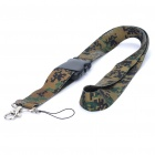 Stylish Detachable Lanyard Neck Strap for Cell Phone/MP3/ID Badge (56CM-Length/Random Styles)