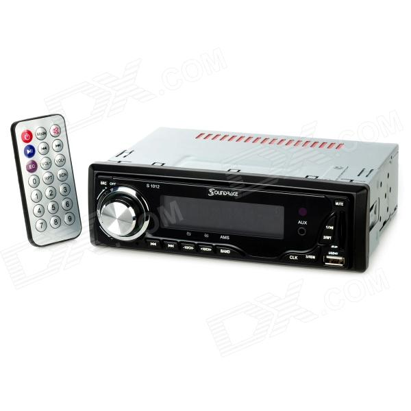 "200W Detachable Front Panel In Dash 3.2"" LCD Car Stereo MP3 Player w/ FM Radio/USB/SD/AUX (DC 12V)"
