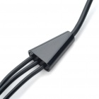 Premium AV Composite Cable for Samsung Galaxy Tab P1000 - Black (90CM)