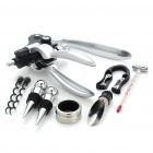 Professional Wine Opener + Air Tight Stopple Set
