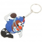 Buy NY Football Figure Silicone Keychain