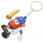 Buy Baseball Figure Silicone Keychain