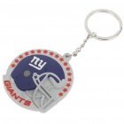 Buy NY Football Logo Silicone Keychain