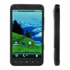 "D2000 4.3"" Touch Screen Dual SIM Dual Network Standby Quadband GSM TV Cell Phone w/ Wifi/Java"