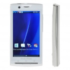 """X10i 3.8"""" Touch Screen Dual SIM Dual Network Standby Quadband GSM TV Cell Phone w/ Wifi/Java - White"""