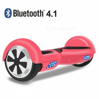 OTTO Hoverboard Two-wheel Self-balancing Scooter UL2272 Certificated with Bluetooth Speaker - Red