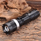 NF-X8455 Flood-to-Throw Zooming CREE Q3 WC 3-Mode 160-Lumen LED Flashlight w/ Clip (1xAA / 1x14500)