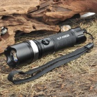 NF-X8626 Flood-to-Throw Zooming CREE Q3 WC 3-Mode 160-Lumen LED Flashlight w/ Strap (1xAA / 1x14500)