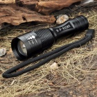 NF-8426Y Flood-to-Throw Zooming 1-Mode 60-Lumen 3W LED Flashlight Camping Lamp w/ Strap (1 x AA)
