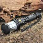NF-CK66B CREE Q3 WC 3-Mode 180-Lumen LED Flashlight Camping Lamp w/ Strap (1 x 18650 / 1 x 17670)