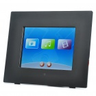 "8.0"" Touch Screen Digital Photo Frame w/Mini USB/3.5mm Audio Jack/SD/CF (800 x 600px)"