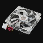 PC Case 120mm 4-LED Chassis Fan