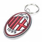 Cool Football Club Team Logo Keychain Decoration - A.C. Milan