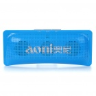 Fashion USB Rechargeable Music Speaker with Mini USB/TF/FM/Aux/Earphone Slot - Blue