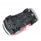 Creative Bullet Style Storage Mini Rechargeable R/C Model Racing Car - Red (40MHz)