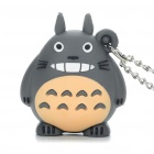 Cute Totoro Style Watch with Long Neckchain - Dark Gray (1 x 377)