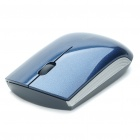 Drahtlose Bluetooth V2.0 1000dpi Optical Mouse Blue Light - Blau (1 x AA)