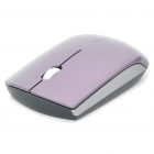 Drahtlose Bluetooth V2.0 1000dpi Optical Mouse Blue Light - Purple (1 x AA)