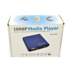 Mini 1080P HD Media Player with SD/USB/HDMI/AV/YPbPr - Blue