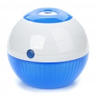 Car Cigarette Lighter Powered Air Ultrasonic Humidifier - White + Blue (DC 5~12V)