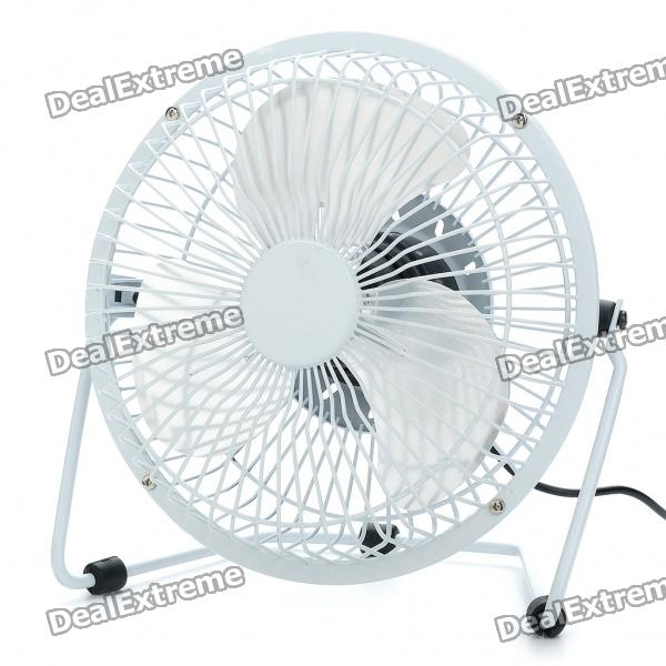 6 Metal USB Powered Cooling Fan - White michael jacksons this is it cd