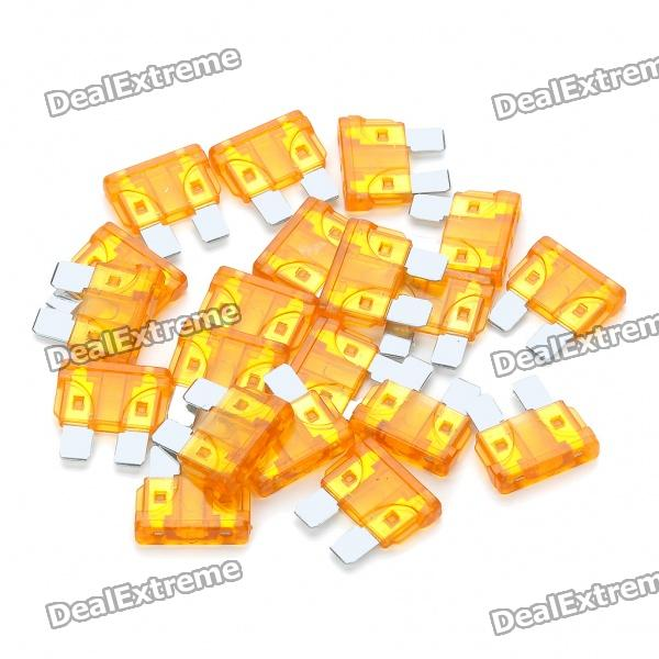 5A Car Power Fuse (20-Piece Pack / Size-L)