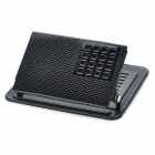 Universal Metal Holder w/ Anti-Slip Mats for Cell Phone / MP3 /MP4