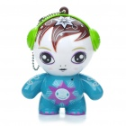 Cute Cartoon Figure Style Mini Rechargeable Speaker for MP3/MP4/PC/Cell Phone