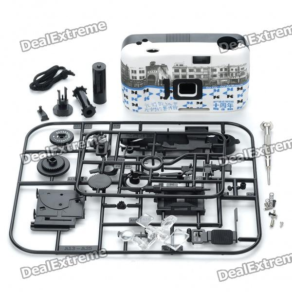 135 Camera Model DIY Assembly Kit - Black + White