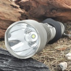 UltraFire A9-T60 2-Mode 910-Lumen White LED Flashlight with Strap - Grey (1 x 18650)