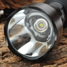 UltraFire A9-T60 2-Mode 975-Lumen White LED Flashlight with Strap - Black (1 x 18650)