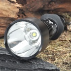 UltraFire A9-T60 5-Mode 1000-Lumen White LED Flashlight with Strap - Black (1 x 18650)