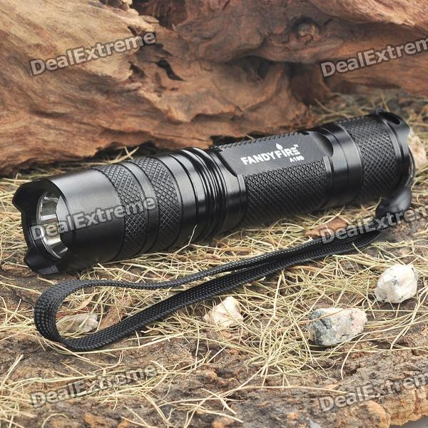 FandyFire A10B 1-Mode 700-Lumen White LED Flashlight w/ Strap (1 x 17670 / 1 x 18650) fandyfire 2130 3 mode 900 lumen white led flashlight w strap 1 x 17670 1 x 18650