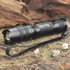 FandyFire A10B 1-Mode 700-Lumen White LED Flashlight w/ Strap (1 x 17670 / 1 x 18650)