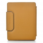 Bluetooth V2.0 Wireless Keyboard with PU Leather Case for iPad 2 - Brown