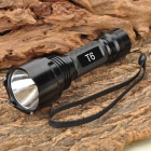 UltraFire C2-T60 CREE XM-LT6 5-Mode 1200-Lumen Memory White LED Flashlight (1 x 17670 / 1 x 18650)