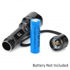 UltraFire C2-T60 5-Mode 1200-Lumen Memory White LED Flashlight (1 x 17670 / 1 x 18650)