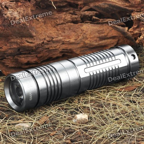Small Sun ZY-S9 1-Mode 3W 80-Lumen White TIR Optic Lens LED Flashlight (3 x AAA) - DXAAA Flashlights<br>Having lighting available when it's dark can be inconvenient. It's always more difficult to locate a light source in the dark; fumbling around in drawers and in camping bags trying to find that flashlight. DX has an option so you'll always have that flash light ready and handy. This is a super bright LED flashlight. IT is extremely durable. It has the clicky style switch located on the end of the shaft. It has a 3 watt LED light and emits super white light to brighten up any situation. It requires three AAA batteries which are easily fitted into the battery case. It produces 80 lumens of light power for a period of about 30 minutes. Conveniently included is a clip to keep your flashlight handy and available. Dont let yourself be left in the dark. Make sure you have this high quality high power light at your side. It is great for any emergency that pops up. As well it makes an excellent gift. Brand: Small Sun Model: ZY-S9 Color: Grey Emitter Brand/Type: LED Emitter BIN: LED Color BIN: White Total Emitters: 1 x LED Power: 3W Battery Configurations: 3 x AAA battery (not included) Voltage Input: 2.8~4.5V Switch Type: Clicky/Clickie Switch Location: Tailcap (Tail-cap) Modes: 1 Circuitry: Digital regulated 750mA current output Brightness: 80 Lumen Runtime: 30 minutes (manufacturer rated) Lens: TIR Optic lens Reflector: Plastic Smooth/SMO Carrying Clip: Clip included<br>