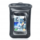 Waterproof PVC Pouch for Iphone/MP3/MP4 - Black