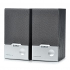 EDIFIER Stylish USB Powered Wooden Multimedia Speakers - Black