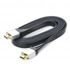 Designer's 1080P HDMI 1.4 Male to Male Flat Connection Cable (185CM-Length)