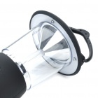 Solar Powered/Hand Cranked Dynamo 6-LED 2-Mode White Light Camping Lamp