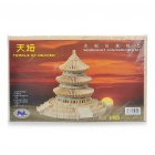 Woodcraft DIY Model 3D Puzzle Toys - Temple of Heaven